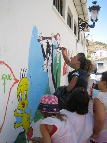 Jornada de Pintura al aire libre. Escuela de verano
